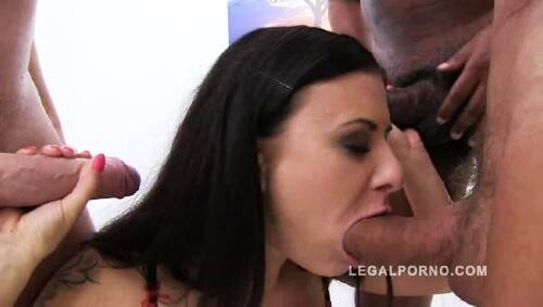 Billie Star - Piss Drinking Slut - 3 on 1 (2015/LegalPorno/SD)