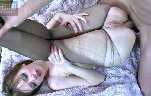 Aubry - Anal with Pantyhose (2014/FerroNetwork/HD)