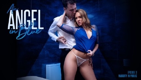 Blue Angel - An Angel In Blue: Naughty In Public (2019/21Sextury/SD/544p)